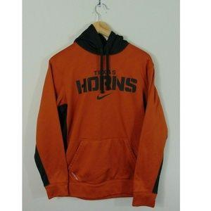 Nike Mens S Texas Longhorns Hoodie Sweatshirt